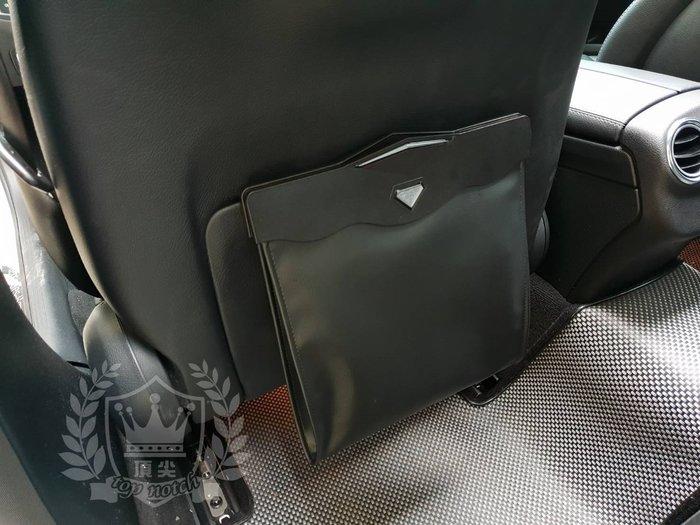 HONDA本田5代【CRV車用垃圾桶】皮革材質 全車系 車內懸掛式垃圾袋 喜美 通用置物收納袋 配件飾品 磁吸式開合收納
