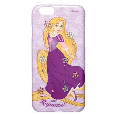 尼德斯Nydus~* 日本正版 迪士尼 長髮公主 立體 水鑽 硬殼 手機殼 4.7吋 iPhone6