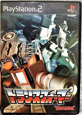 幸運小兔 PS2遊戲 PS2 變形金剛 稀少品、盒書齊全 The Transformers 日版 C4