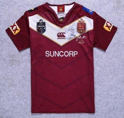 漫無止境weej 17-18馬魯紀念版橄欖球服Commemorate MAROONS Rugby Jersey