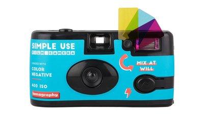 台南 晶豪野 Simple Use 即開即用底片相機 Lomography 400 彩色負片 即可拍相機