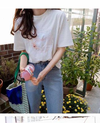 小艾莉-正韓-小清新繡字流蘇衣