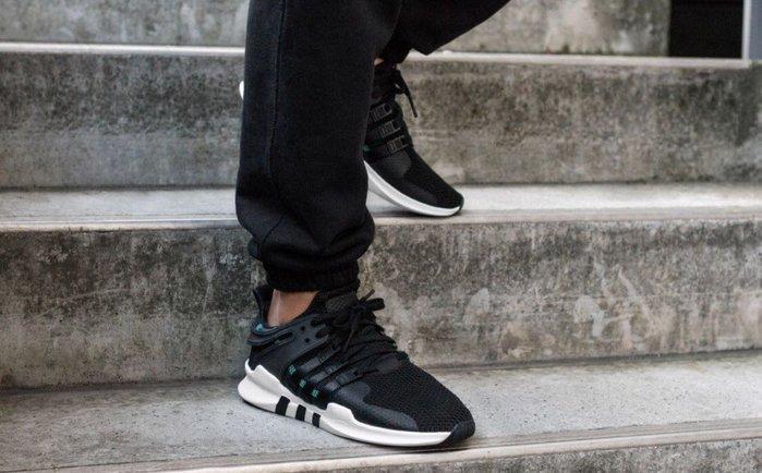 quality design 0b368 e8648 【Cheers】 Adidas EQT Support ADV CQ3006 愛迪達 黑綠色 編織 網布 復古 球鞋-Yahoo奇摩拍賣