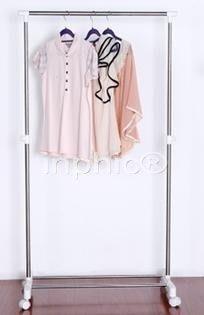 INPHIC-晾曬架 落地折疊伸縮晾衣架 不鏽鋼單桿晾衣桿室內置地曬衣架
