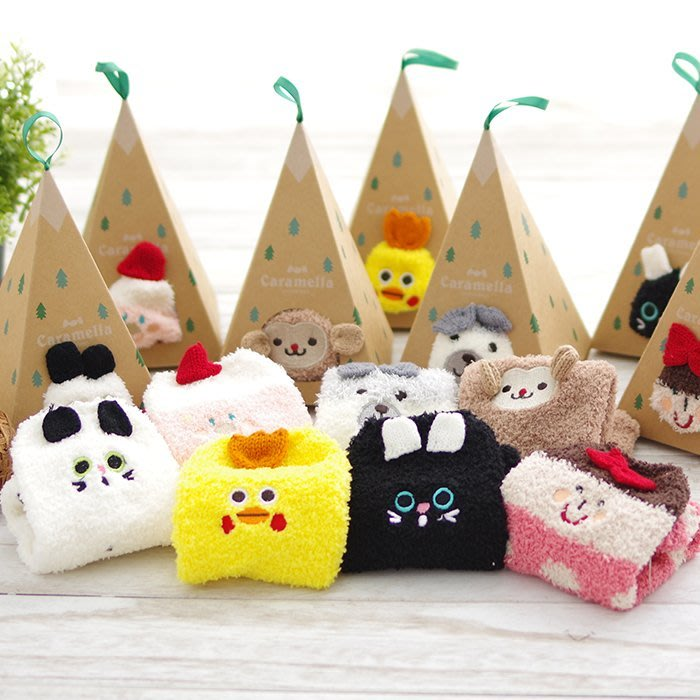 (可超取)HappyLife 【SV5452】聖誕毛巾襪子 毛巾襪 聖誕節裝飾禮物 室內襪 棉襪 居家襪(現+預511