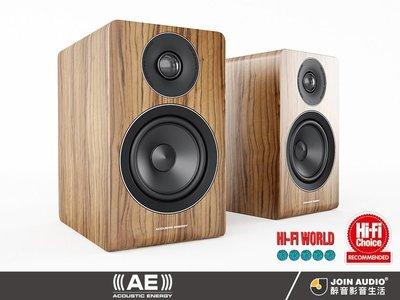 【醉音影音生活】英國 Acoustic Energy AE AE100 核桃木/霧面黑 書架喇叭.2音路2單體.公司貨