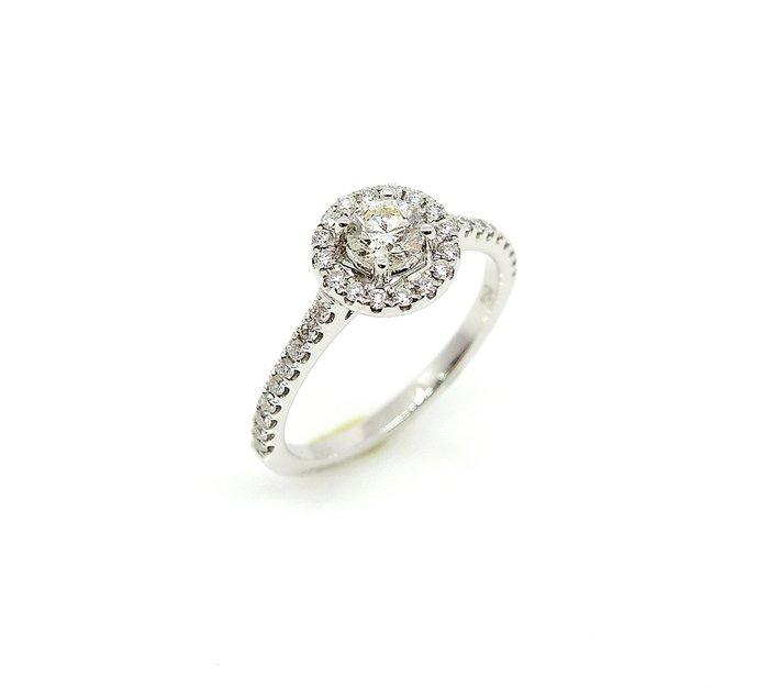【JHT 金宏總珠寶/GIA鑽石專賣】0.30ctGIA天然鑽石女戒/J-VS2/材質:750(B3863)
