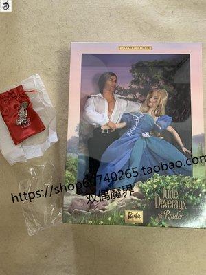 九州動漫芭比 Jude Deveraux The Raider ken 珍藏版浪漫小說 肯 雙人禮盒