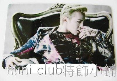 mini club特飾小店**全新 韓國組合 BIGBANG 權志龍 八達通貼紙 卡貼 保護貼 $8/張 包郵**H