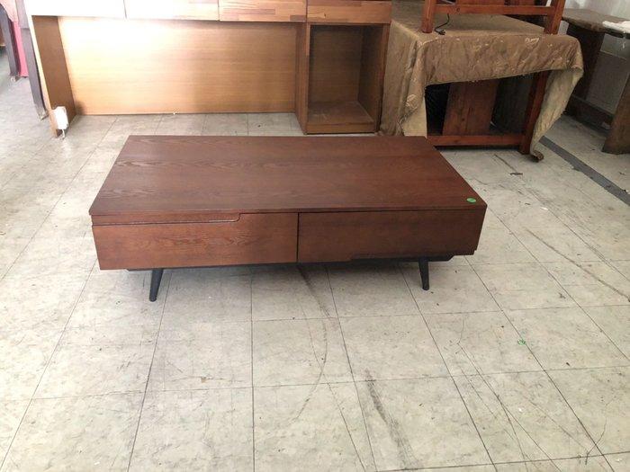 大高雄冠均二手家具(搬家、辦公室拆遷、搬運)---【全新】半實木  工業風   大茶几   客廳桌   千萬別錯過