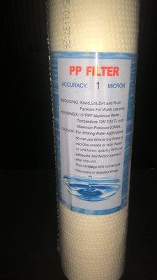 職人工具 水族用品 淨水濾芯《RO機.淨水器..三胞胎 專用濾心 /  1微米PP纖維濾芯》,10英吋通用規格 新北市