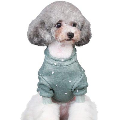 寵物用品·小狗狗衣服秋冬裝泰迪比熊博美貴賓小型幼犬兩腳貓咪法斗寵物衛衣
