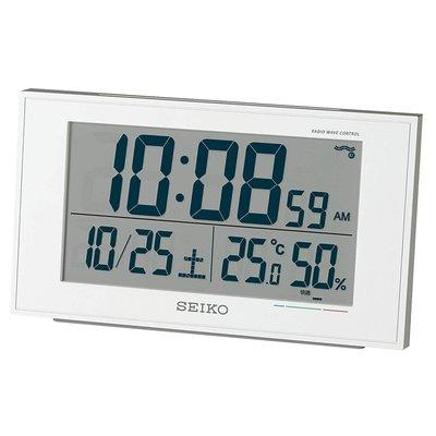 日本代購  SEIKO精工  數位時鐘 鬧鐘 溫度 濕度 日期 預購