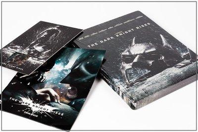 【BD藍光】黑暗騎士 黎明昇起:雙碟限定鐵盒版+小冊子+膠捲T(台灣繁中字幕)he Dark Knight Rises