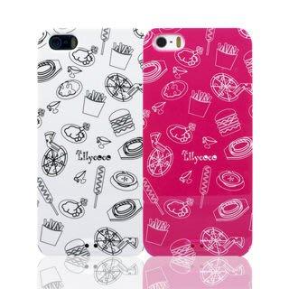 Lilycoco iPhone 5 5S se 設計家系列款 點心 保護殼 保護套 可掛 吊飾 手機殼