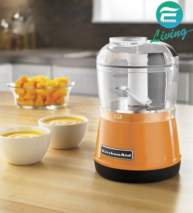 【易油網】KitchenAid KFC3511TG 食物調理機 3.5杯 橘色【缺貨】