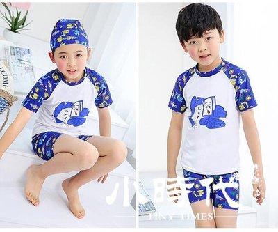 兒童泳衣 男童分體中大童防曬游泳衣速干小寶寶男孩泳褲套裝