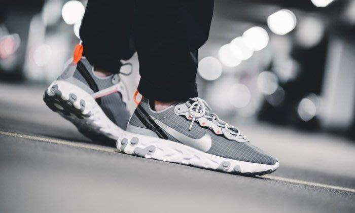 Nike React Element 55 Grey Grid 灰色CD1503-001 慢跑鞋