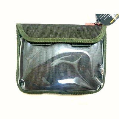 95折-全新Delfonics 隨身手機置物揹袋(全套日本製)綠色