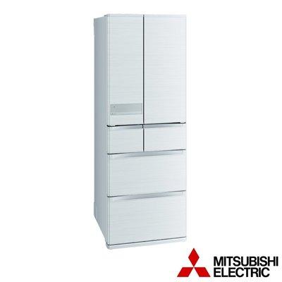 MITSUBISHI三菱 525公升 1級變頻六門冰箱 MR-JX53C-W 絹絲白 日本原裝
