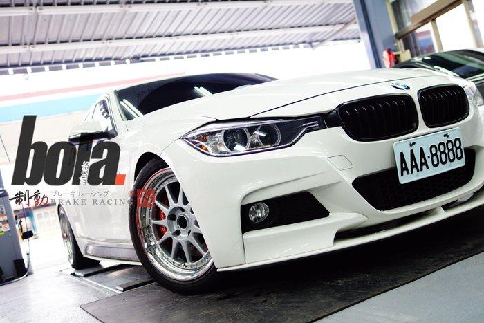 """Bola Wheels B4 18"""" 階梯式白鐵深唇 BMW F30 5x120 歡迎詢問 各車系歡迎詢問 / 制動改"""