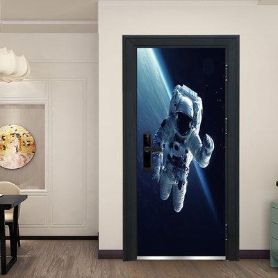 暖暖本舖 3D太空人門貼 宇航人員 創...