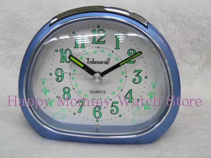 【 幸福媽咪 】網路購物、門市服務 Telesonic 天王星 響鈴聲 燈光 貪睡鬧鐘 型號:ALM50