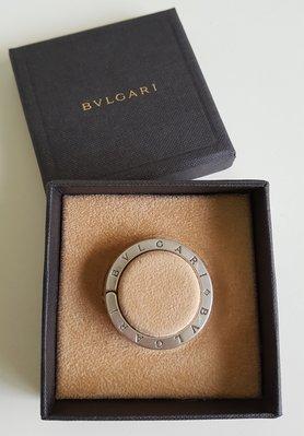 BVLGARI    寶格麗    經典款   純銀 925 吊墜  鑰匙圈, 保證真品   超級特價便宜賣!