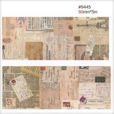 小螃蟹❤文雜:和紙膠帶/裝飾膠帶【懷念】