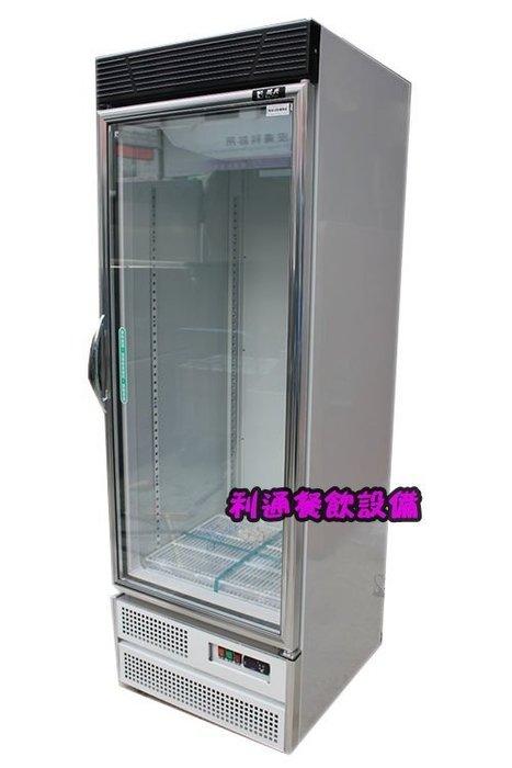 利通餐飲設備》台灣製 500L 瑞興單門冷藏玻璃冰箱 1門展示冰箱~