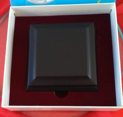 5PY-098  中華民國九十七年  富鼠天下.999純銀 崁金彩色紀念幣 精緻包裝盒證全木盒 如圖