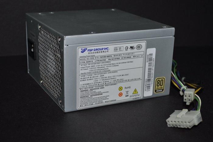 Lenovo 聯想電腦 專用特殊14-pin 電源 電供 全漢 FSP280-40EPA 280W 80+銅牌