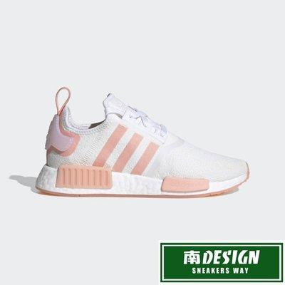 南◇2020 6月 ADIDAS  NMD_R1 SHOES 運動鞋 白粉色 愛迪達 慢跑鞋 FV8730 BOOST