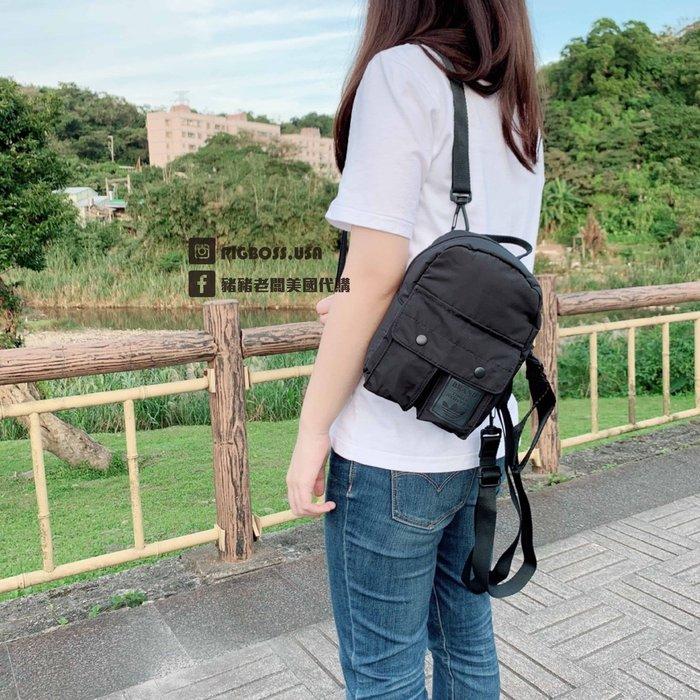 【豬豬老闆】ADIDAS Mini Classic Backpack 黑色 尼龍 後背包 側背 三用 迷你 CE5638