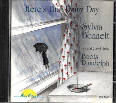 Sylvia Bennett.Boots Randolph / Here's That Rainy Day