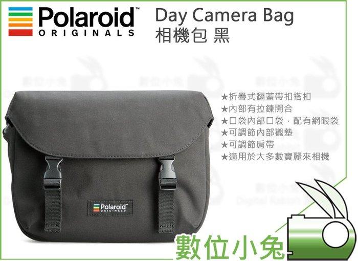 數位小兔【Polaroid 寶麗萊 4796 Day Camera Bag 相機包 黑】側背包 單肩包 拍立得 便攜包
