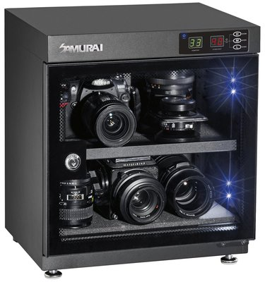 【華揚數位】【現貨】☆全新 SAMURAI 新武士 GP5-30L 電子防潮箱 LCD 30公升 5年保固 公司貨