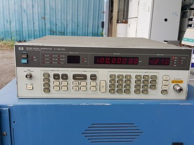 HP 8656B Synthesized Signal Generator, 系列類比信號產生器