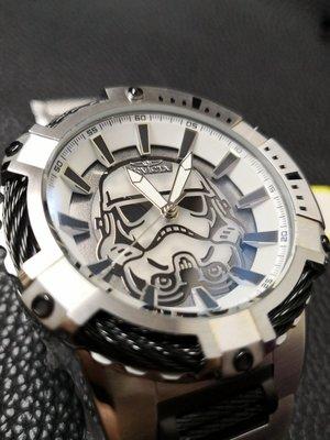 Invicta 英威塔 星戰白兵 帝國風暴兵 限量機械錶 (星際大戰 、Star Wars)