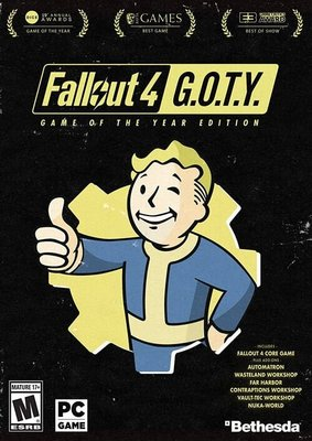 Fallout 4: Game of the Year Edition PC 異塵餘生4:年度版 序號 (超商繳費)