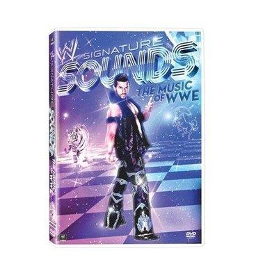 ☆阿Su倉庫☆WWE摔角 Signature Sounds The Music of The WWE DVD 巨星出場樂最新專輯 熱賣特價中