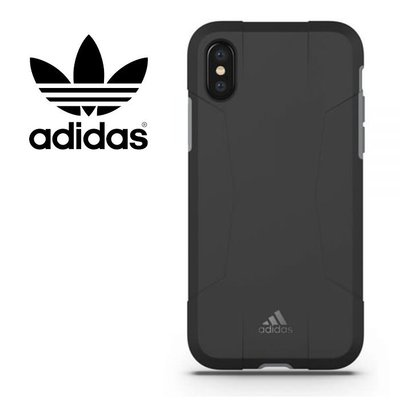 adidas Performance Solo 運動鎧甲 5.8吋 iPhoneX/iX 黑灰 手機殼/29601