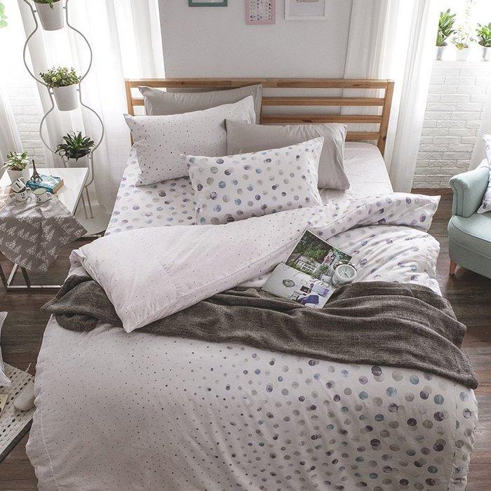 床包兩用被組 / 雙人加大【律動永恆】含兩件枕套  60支精梳棉  戀家小舖台灣製AAS315