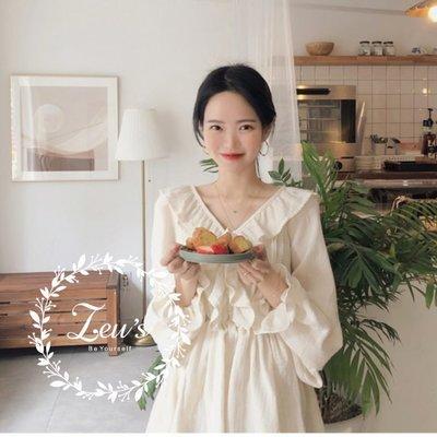 【ZEU'S】韓國小氣質休閒收腰襯衫『 03119624 』【現+預】C