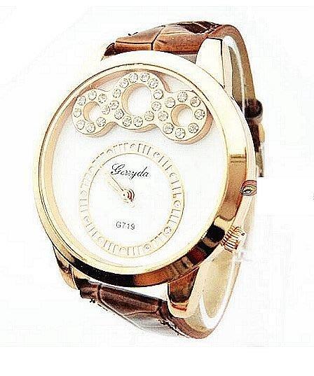 【Asiahito】浮雲 經典時尚女表 鑲鑽女士手表商務休閑百搭時裝表 廠家直銷719