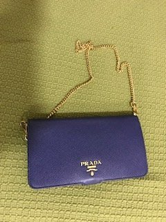 Prada Navy Blue 深藍色 電話套 Apple iPhone 6 plus case