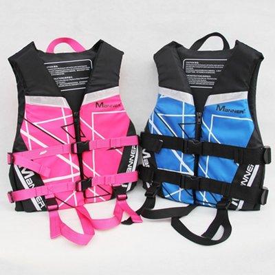【綠色運動】MANNER新款兒童救生衣 浮力衣 遊泳衣 潛水游泳衝浪漂流學泳必備