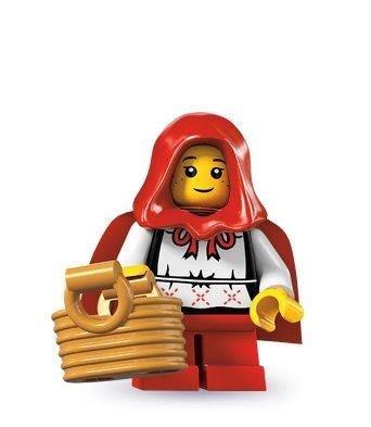 絕版品【LEGO 樂高】玩具 積木/ Minifigures人偶包系列: 7代 8831   小紅帽+提籃