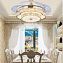 隱形風扇燈吊扇燈餐廳家用遙控42寸變頻帶電...
