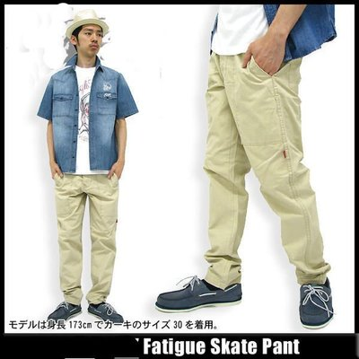 【 超搶手 】 全新正品 2012 S/S 夏季最新款 Stussy Fatigue Skate Pant 工作褲 卡其 W30 34 W36